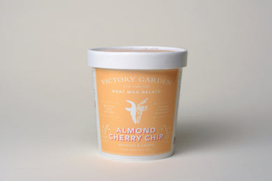 Almond Cherry Chip Goat Milk Gelato NEW***