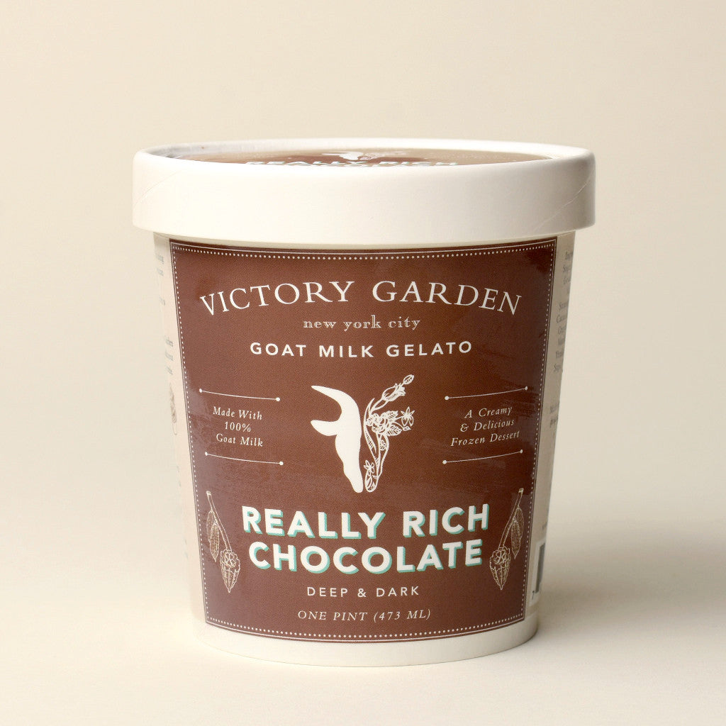 Really Rich Chocolate Goat Milk Gelato