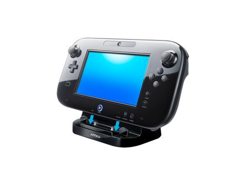 Power Stand for Wii U - right front angle