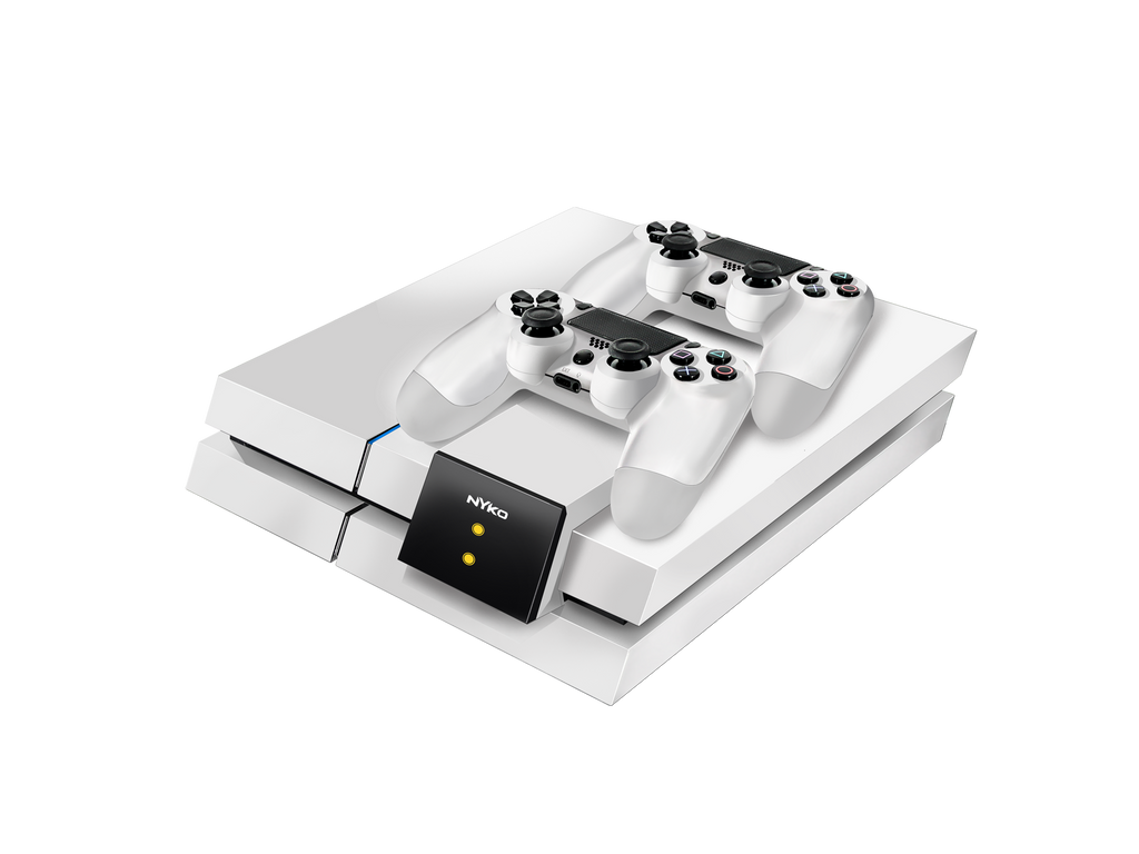 Modular Charge Station for PS4 - right front angle