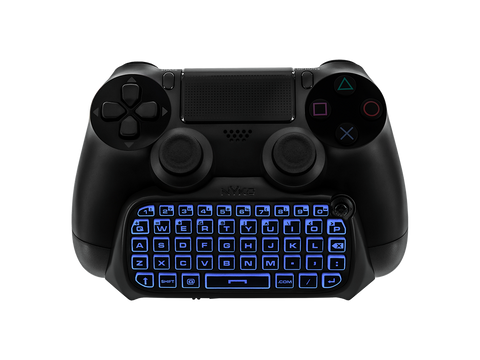 Type Pad for PS4 - blue lit keypad