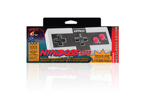 Miniboss AAA for NES Classic Edition - box front