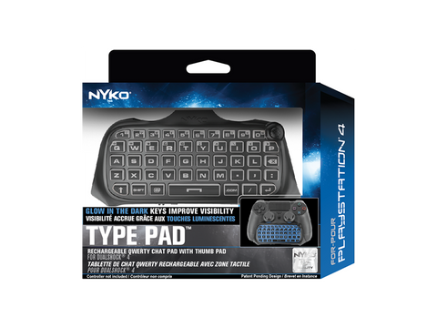 Type Pad for PS4 - box front