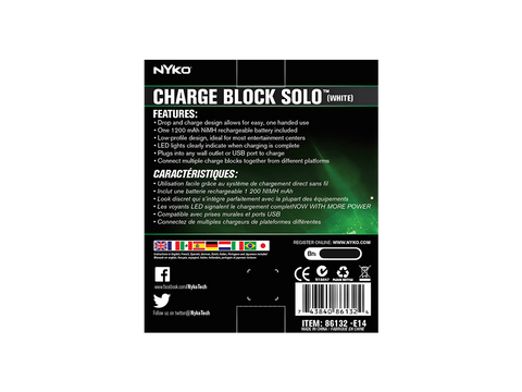 Charge Block Solo for Xbox One - box back
