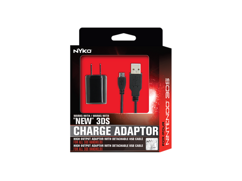 "Charge Adapter for ""New"" 3DS - box front"