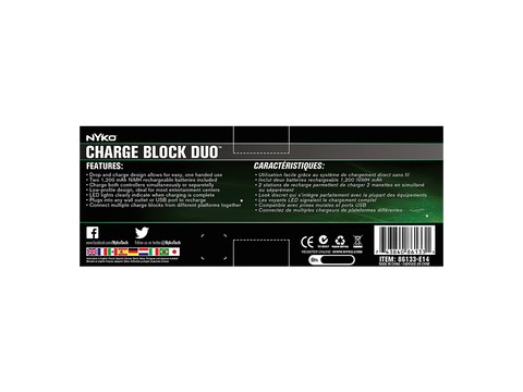Charge Block Duo for Xbox One - box back