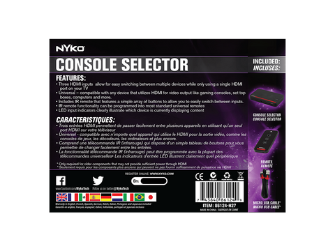 Console Selector