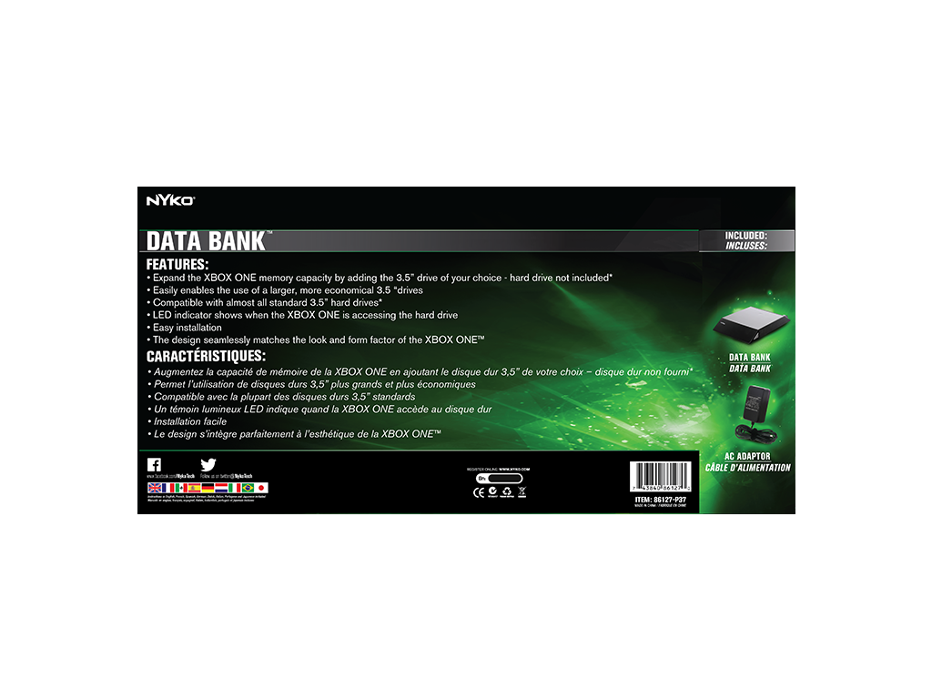 Data Bank for Xbox One™ – Nyko Technologies