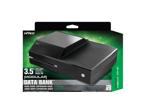 Data Bank for Xbox One - box front