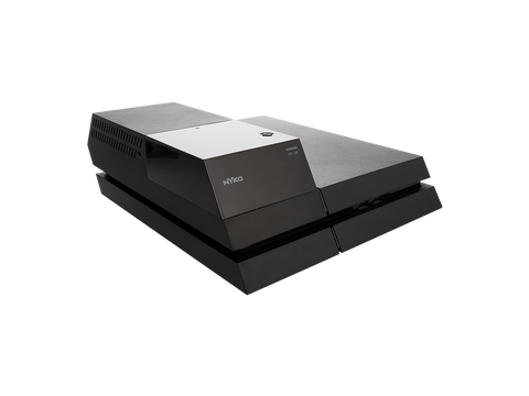 Data Bank Plus for PS4 - left front angle