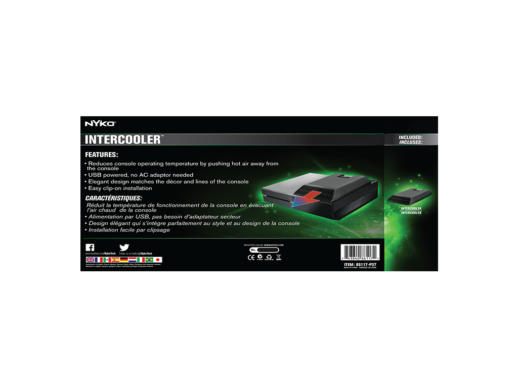 Amazon. Com: nyko intercooler ex cooling fan for xbox 360: artist.