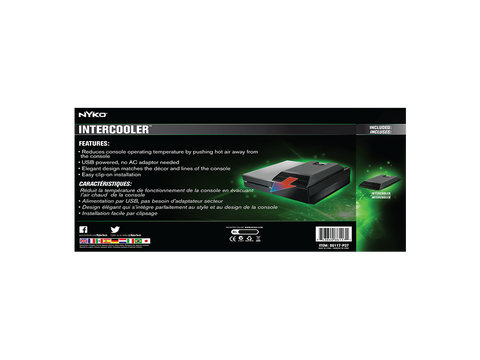 Intercooler for Xbox One - box back