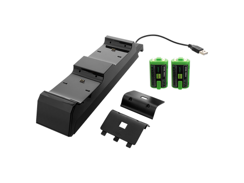 Modular Charge Station for Xbox One - station, 2 NiMH battery packs, 2 covers