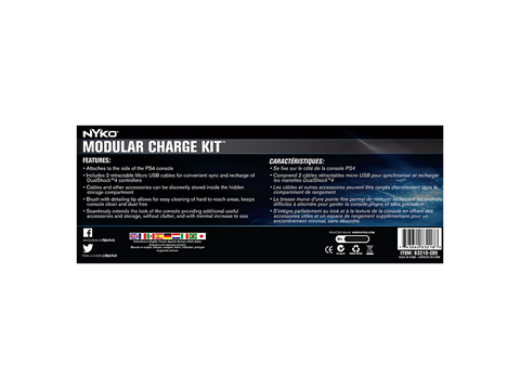Modular Charge Kit for PS4 - box back