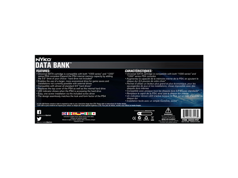 Data Bank for PS4 - box back