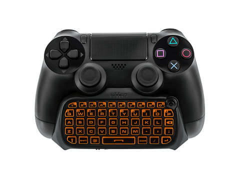 Type Pad for PS4 - orange lit keypad
