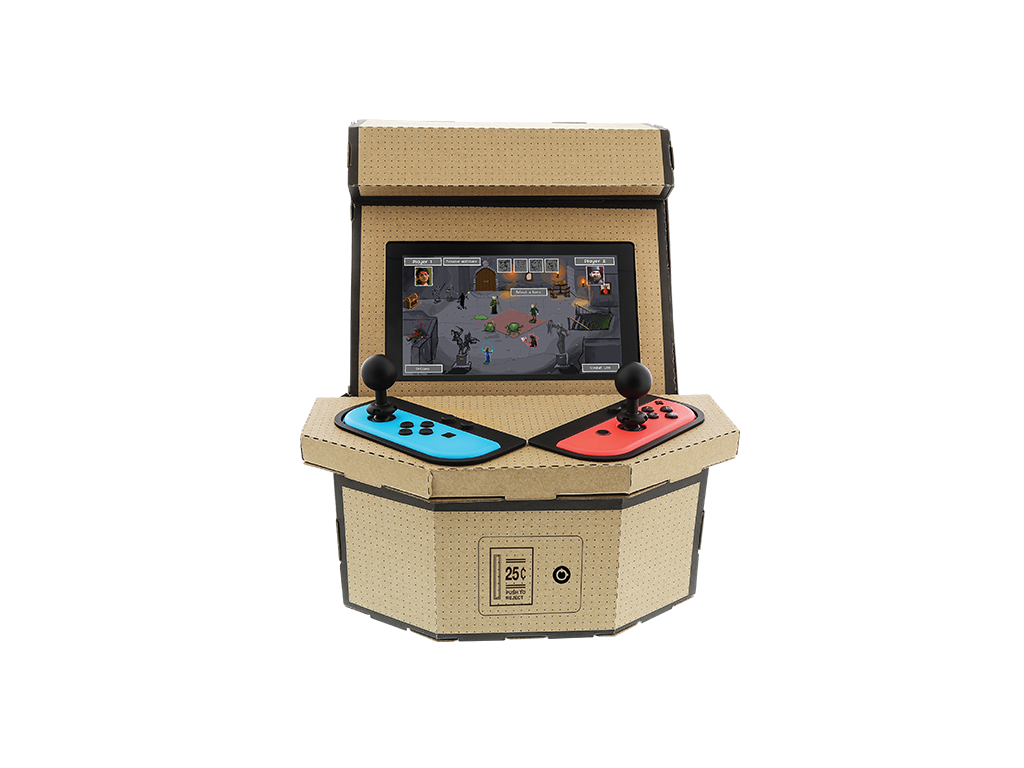 PixelQuest Arcade Kit for Nintendo Switch™