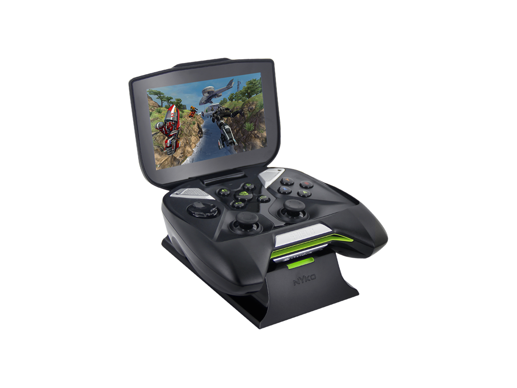 Shield Dock for Nvidia Shield - front left angle