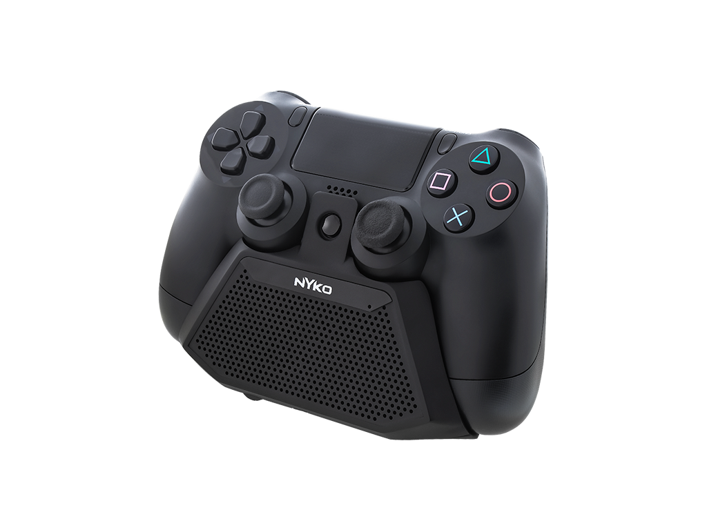 SpeakerCom for PS4 - front right angle