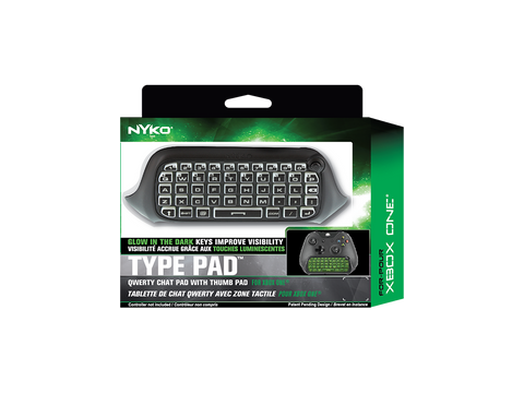 Type Pad for Xbox One - box front