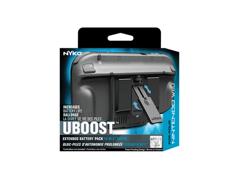 Uboost for Wii U - box front