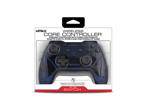 Wireless Core Controller (Blue/White) for Nintendo Switch™