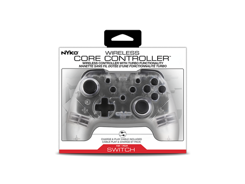Wireless Core Controller (Clear) for Nintendo Switch™