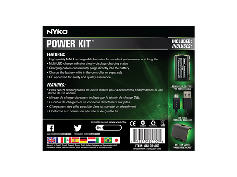Power Kit for Xbox One - box back