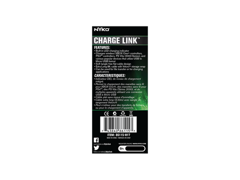 Charge Link for Xbox One - box back