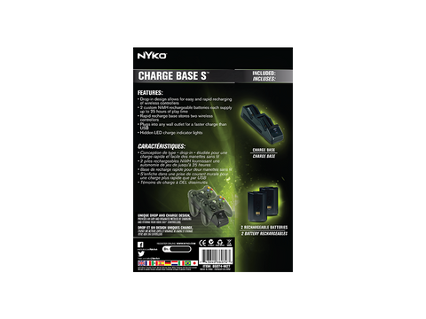 Charge Base S for Xbox 360 - box back
