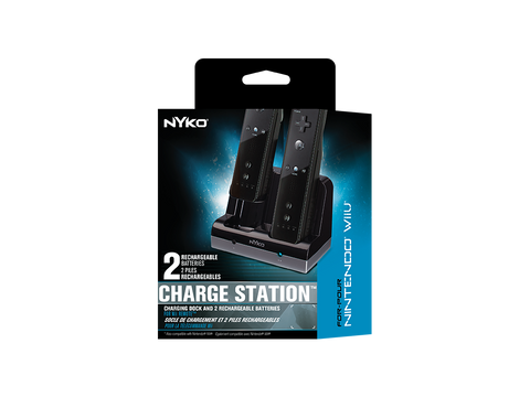 Charge Station for Wii - box front