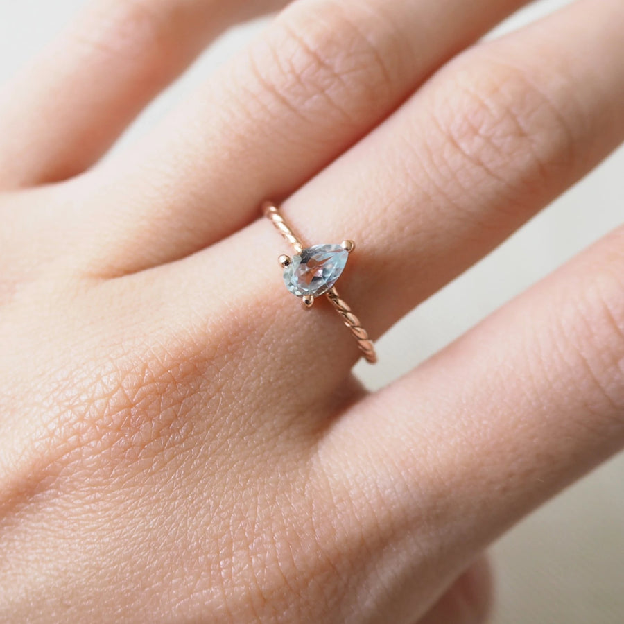 Katie Ring - Blue Topaz