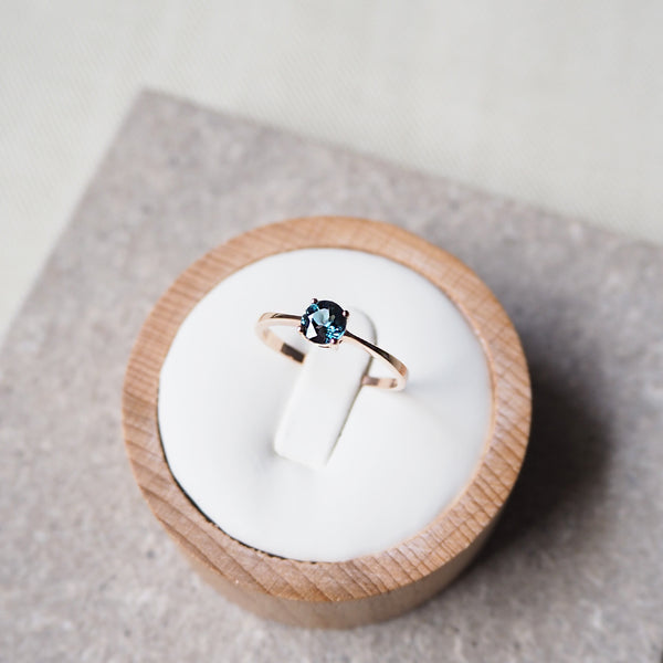 Beth Ring - London Blue Topaz