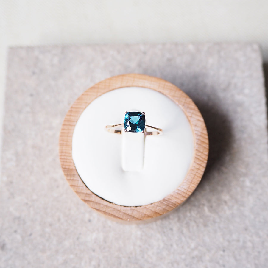 Camille Ring - London Blue Topaz