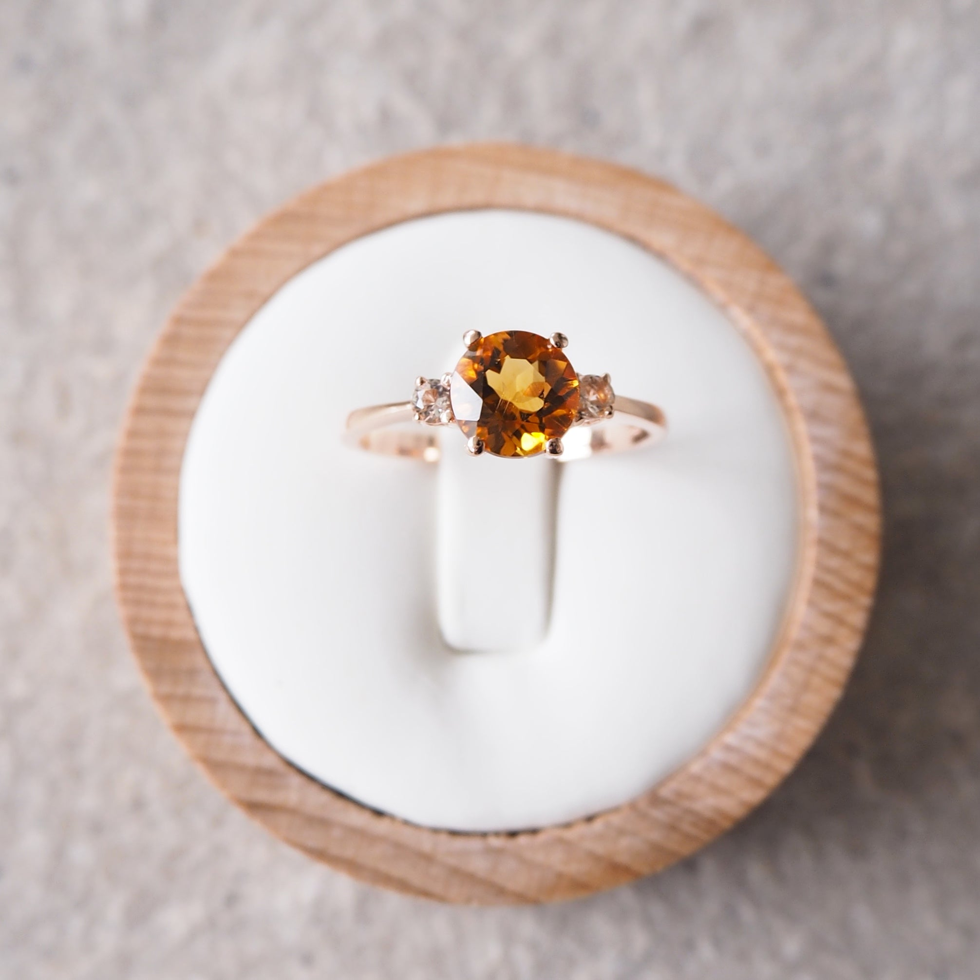 Scarlett Ring - Citrine