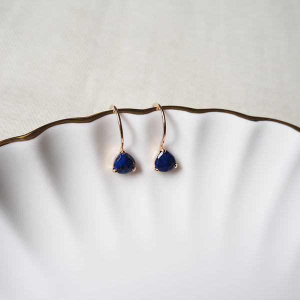 Isa Earrings - Lapis Lazuli