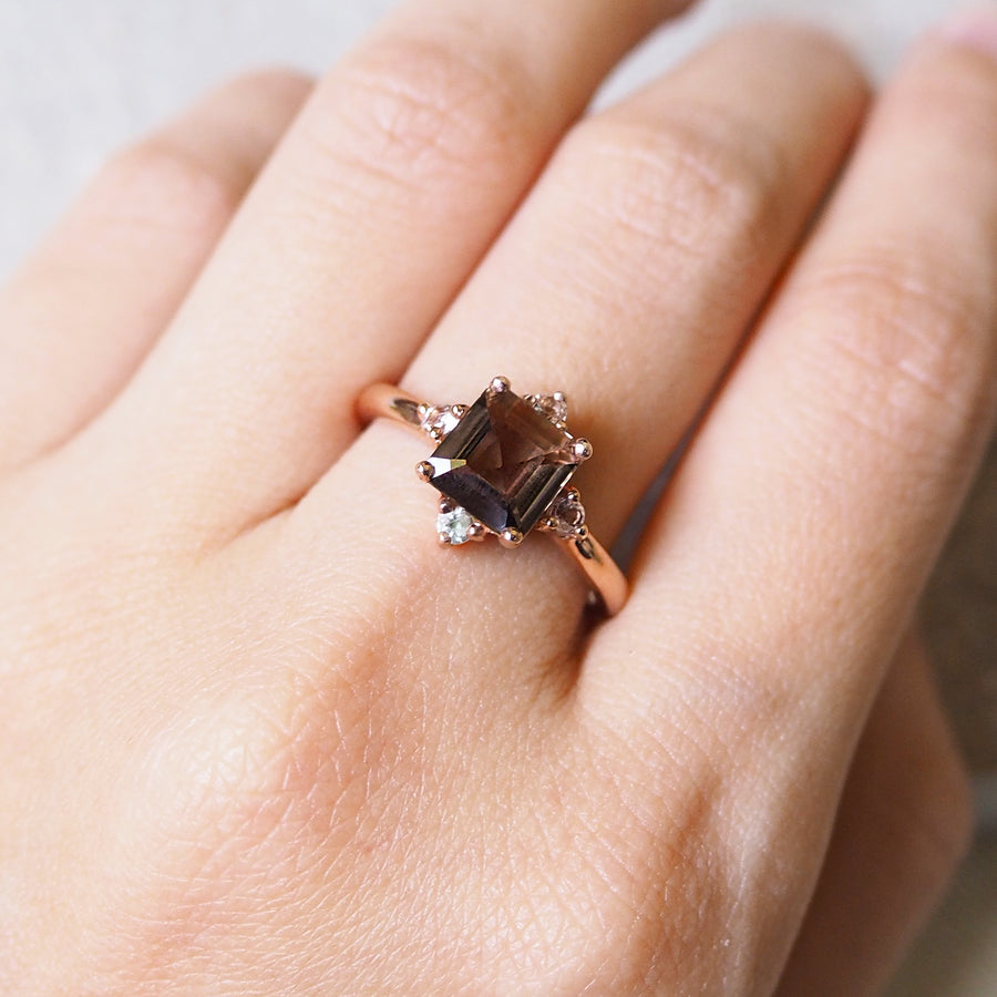 Eira Ring - Smoky Quartz