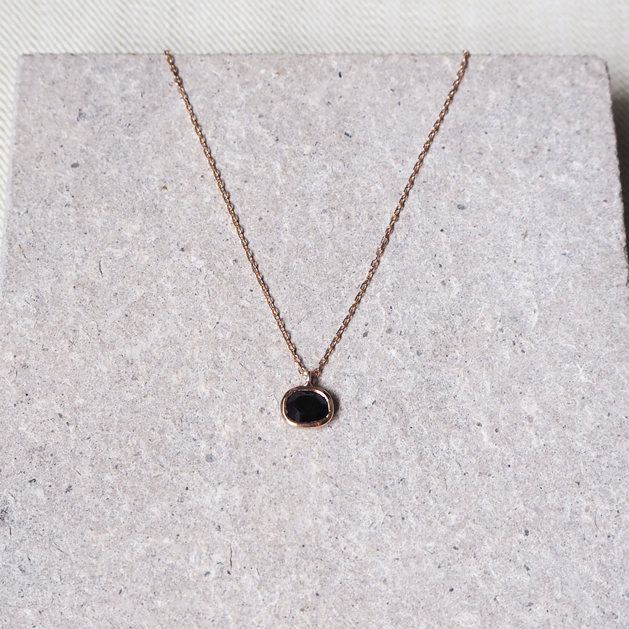 Hailey Pendant - Black Onyx