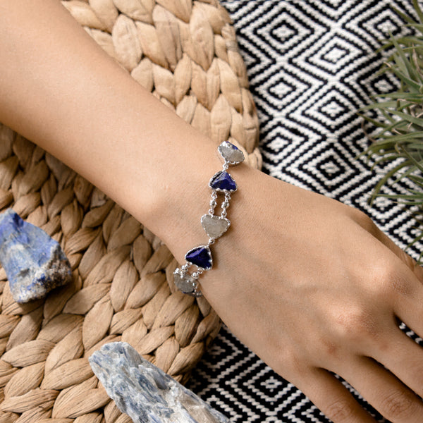 Earth Bracelet - Silver (BACKORDER)