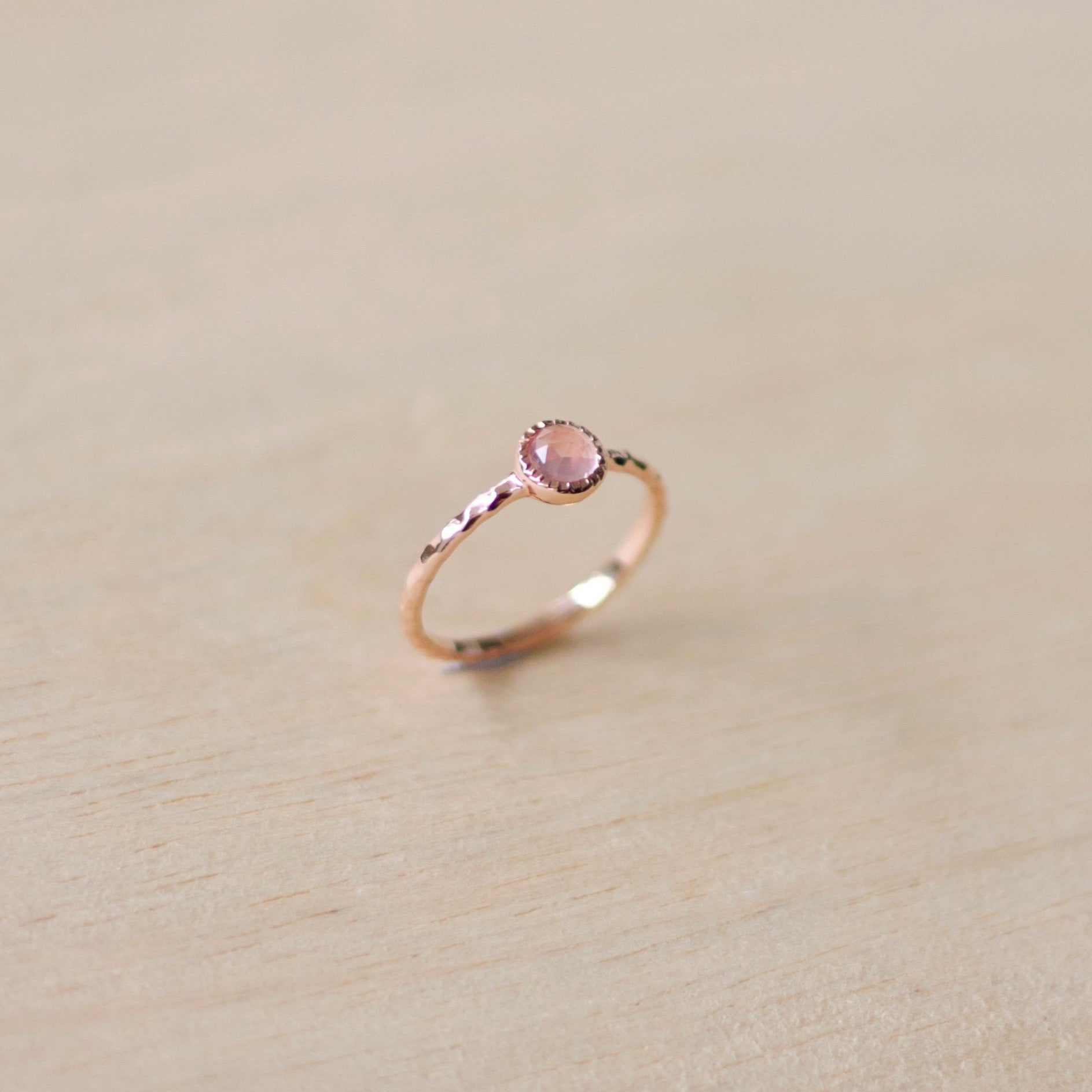 Colette Ring - Rose Quartz