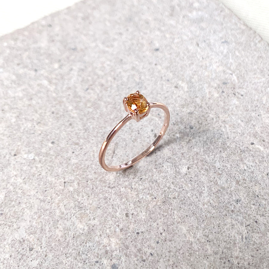 Kaylee Ring - Citrine