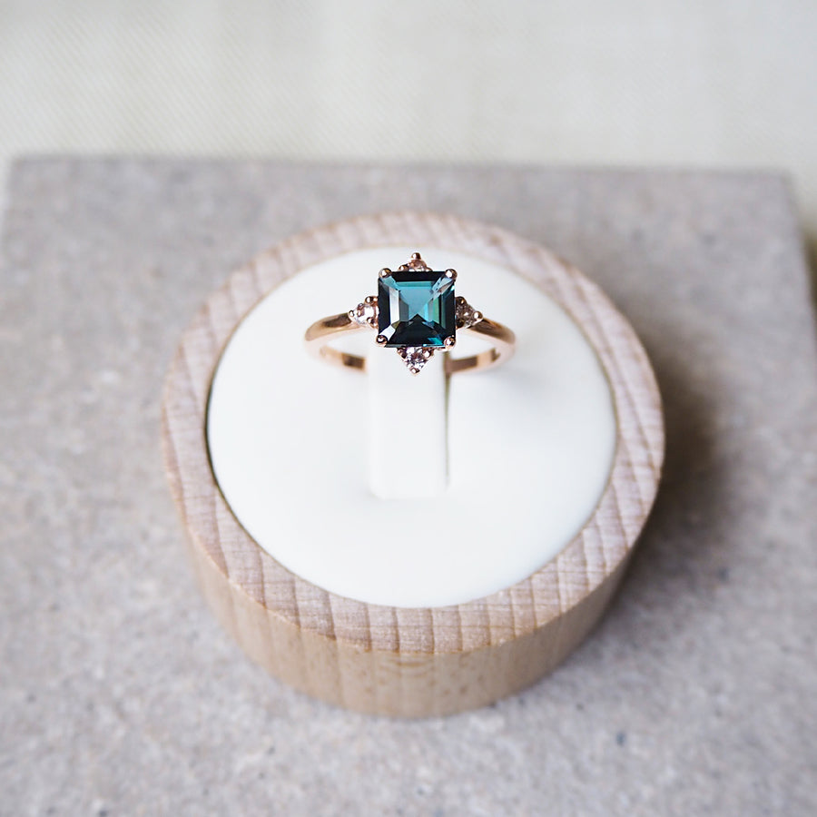 Eira Ring - London Blue Topaz