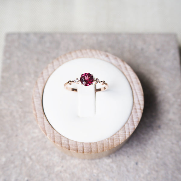 Nova Ring - Rhodolite (BACKORDER)