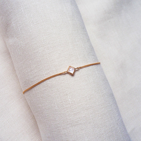 Ever Bracelet - Moonstone in Rose Gold
