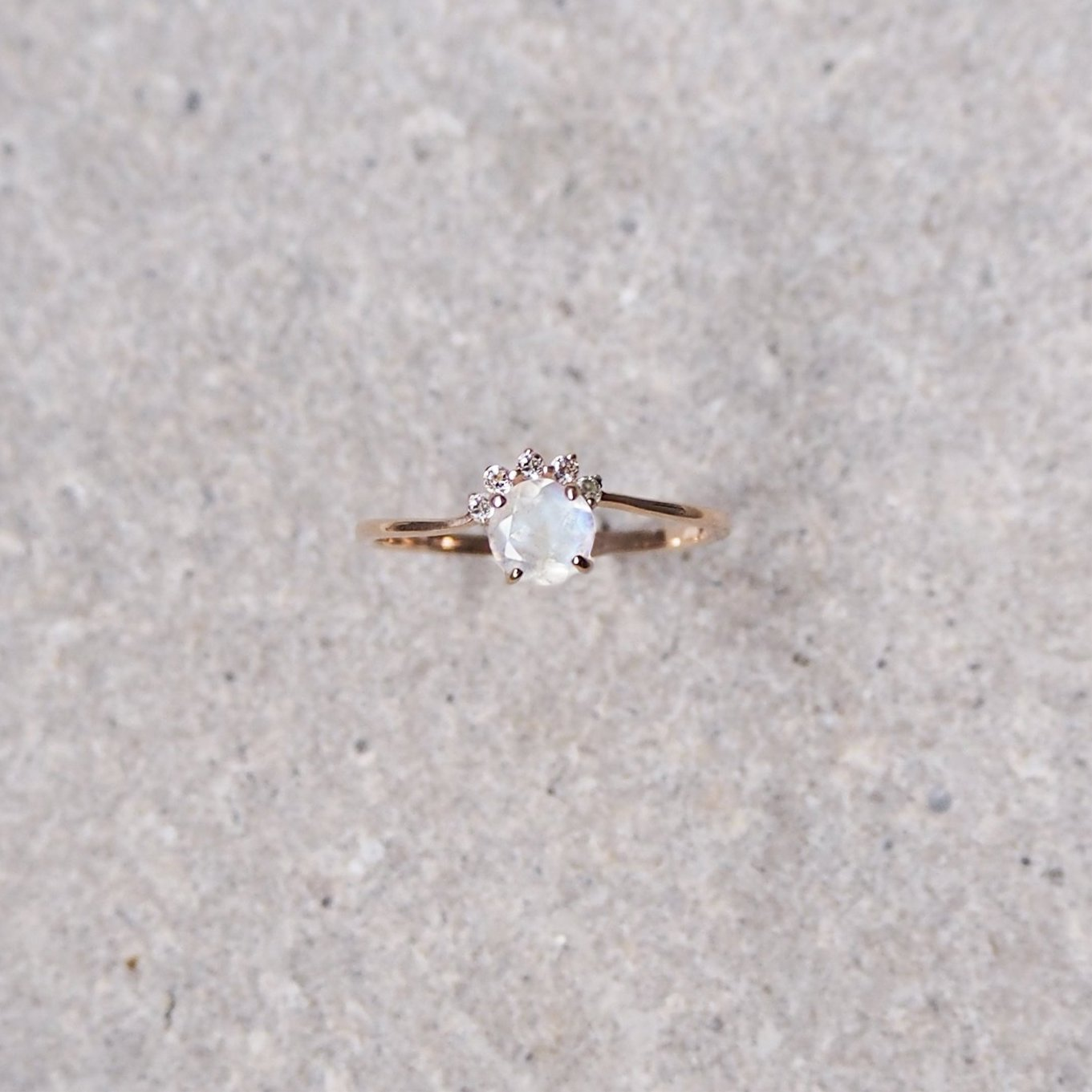 Starry Ring - Moonstone