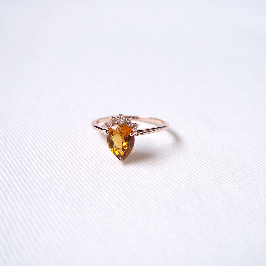 Tealia Ring - Citrine