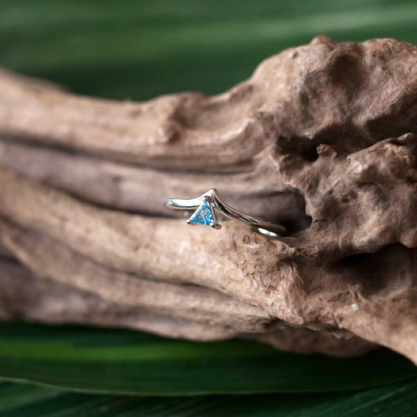 Talia Ring - Blue Topaz in 925Silver