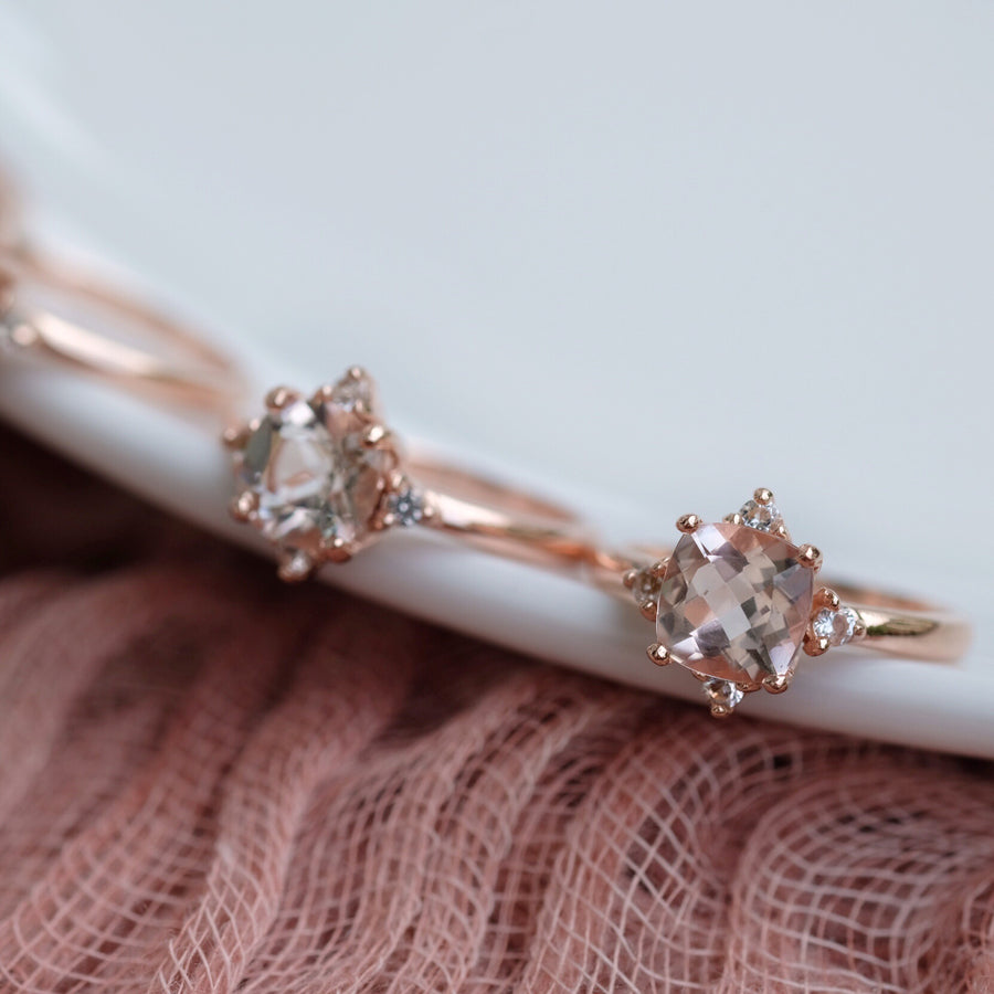 Eira Ring - Morganite