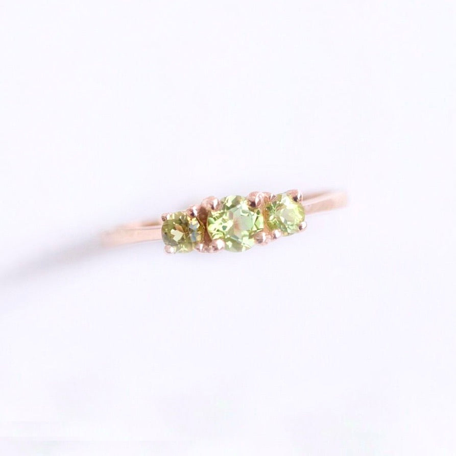 Tressa Ring - Peridot (BACKORDER)