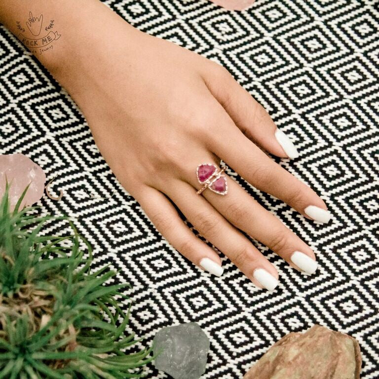Earth Ring - Rose Gold (BACKORDER)